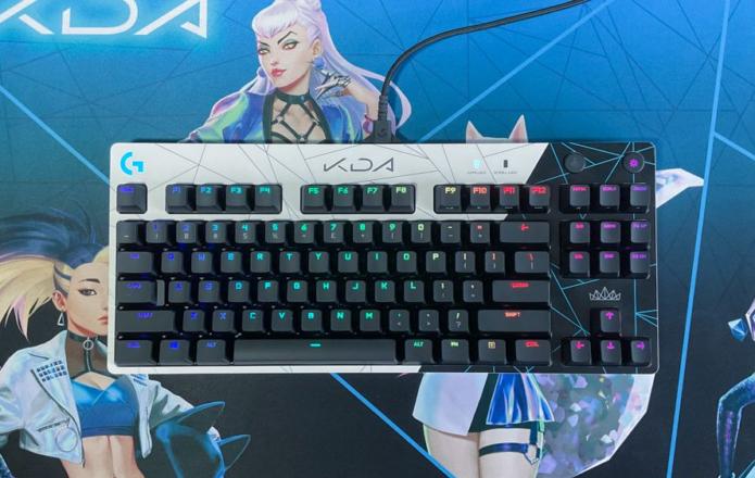 Logitech G Pro K/DA keyboard