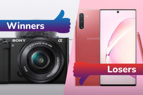 Winners and Losers: Sony's game changing camera, and Galaxy Note bites the dust
