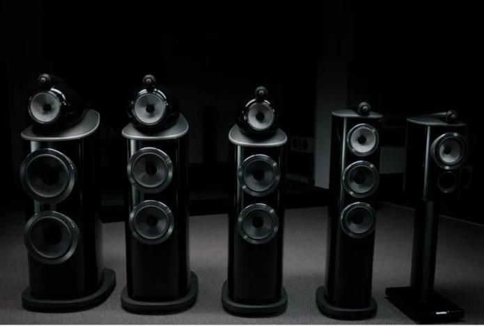 Bowers & Wilkins 800 D4 Series speakers