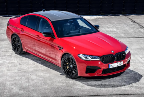 2024 BMW M5 may be the brand's last high-performance V8 – report