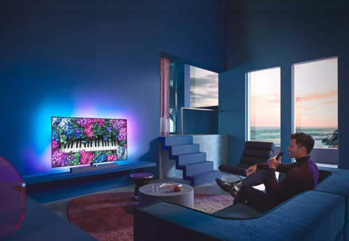 Philips OLED+ 936 TVs in three sizes revealed with HDMI 2.1 ports and a new dual-chip P5 processor