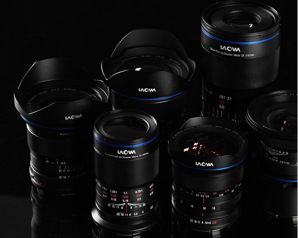 Venus Optics Laowa lenses