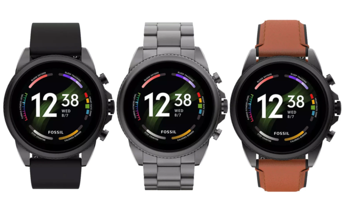Fossil Gen 6 smartwatches