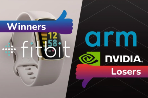 Winners and Losers: Nvidia and Arm raise concerns while Fitbit charges on