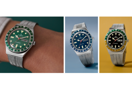 The Timex Q Now Comes in Green and Blue