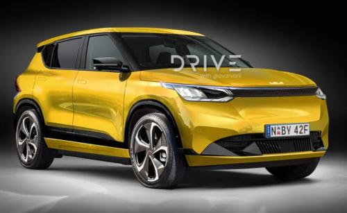 2023 Kia EV4 imagined: Seltos-sized electric SUV coming soon