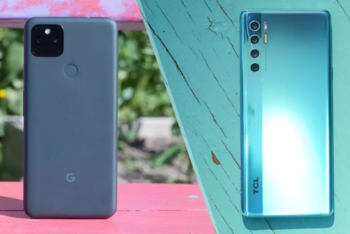 Pixel 5a vs. TCL 20 Pro 5G: Which sub-$500 phone is best?