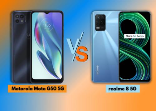 Motorola Moto G50 5G vs realme 8 5G: Which 5G phone to get under PHP 11K?