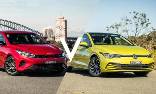 Kia Cerato GT hatch v Volkswagen Golf Life comparison