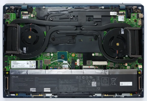 Inside ASUS ZenBook Pro Duo 15 OLED UX582 – disassembly and upgrade options