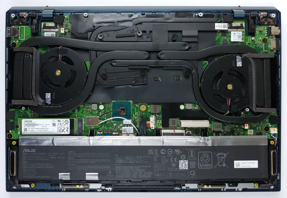 Inside ASUS ZenBook Pro Duo 15 OLED UX582