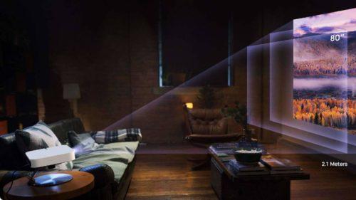 XGIMI Elfin LED projector packs major features into a tiny, sleek body