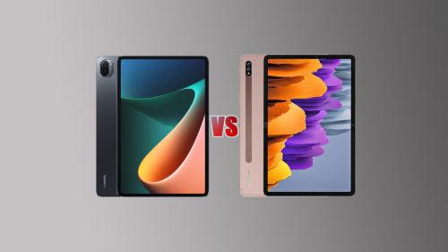 Xiaomi Mi Pad 5 Pro vs Samsung Galaxy Tab S7: Specs Comparison