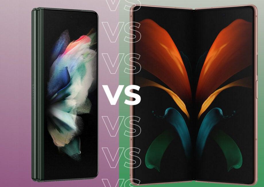 Samsung Galaxy Z Fold 3 vs Z Fold 2