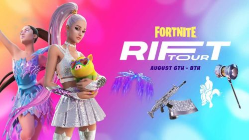 Fortnite's Ariana Grande Rift Tour concert included mini games and XP