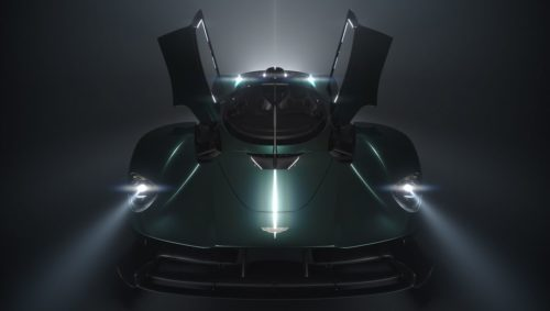 Aston Martin Valkyrie Roadster to Be Revealed at Pebble Beach