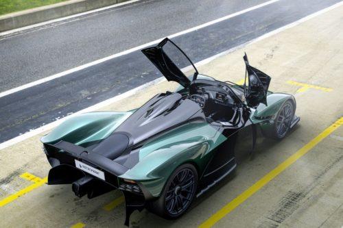 Aston Martin's 1139-HP Valkyrie Spider Loses Roof, Gains Thrills