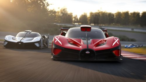 1578-HP Bugatti Bolide Track-Only Hypercar Going into Production