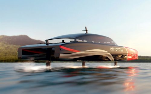 Emirates Team New Zealand to build hydrogen-powered foiling chaseboat
