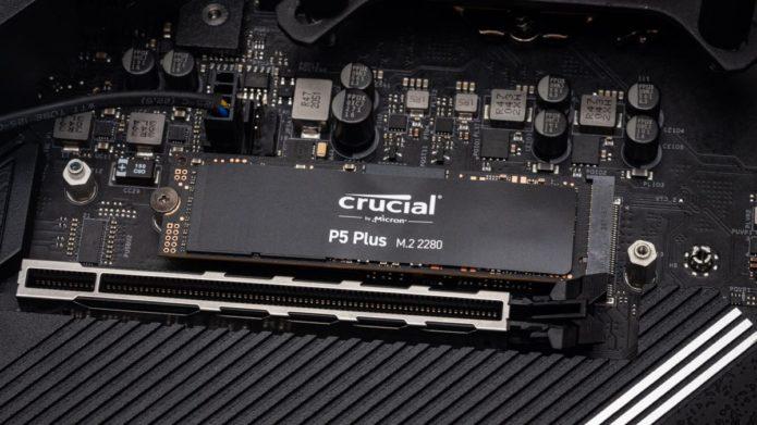 Crucial P5 Plus M.2 NVMe SSD