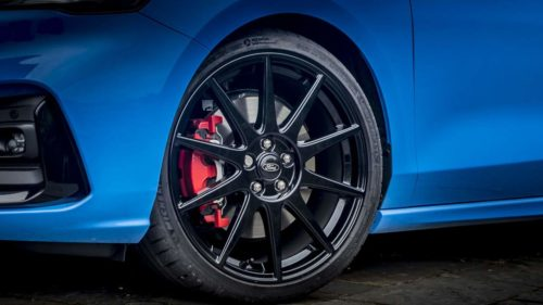 Focus ST Edition offers standard adjustable coilover suspension