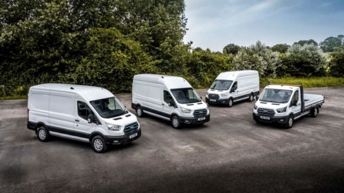 European trials of the Ford E-Transit kickoff