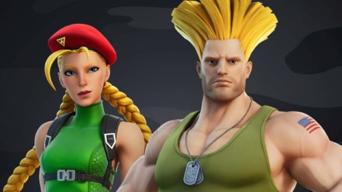 Fortnite x Street Fighter crossover expands with two new character skins