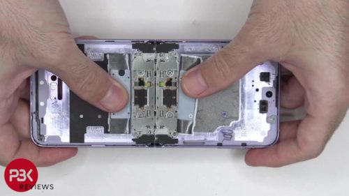 The Samsung Galaxy Z Flip 3 revealed as being not that repairable in first teardown video