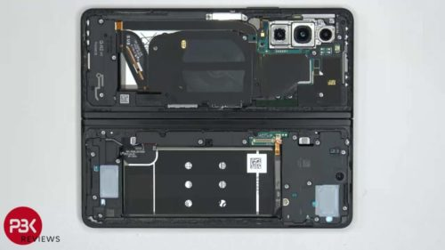Galaxy Z Fold 3 teardown is as tedious as you might imagine