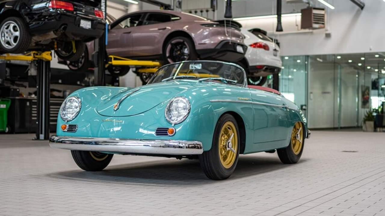 Gorgeous Galpin Porsche 356 Speedster