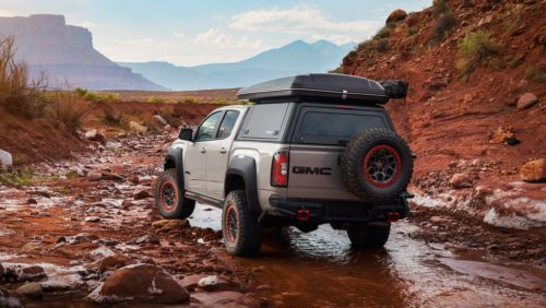 GMC Canyon AT4 Ovrlandx Concept Is Ready for Any Adventure