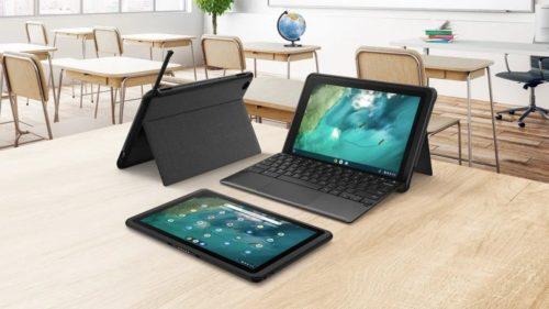 Asus Chromebook Detachable CZ1 pairs MediaTek Kompanio SoC with shockproof casing