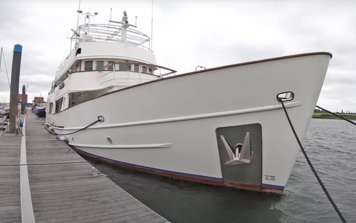 Hall Russell 120 yacht