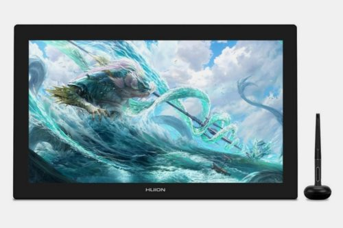 Huion Kamvas Pro Is A 24-Inch 4K QLED Monitor That Doubles As A Pen Drawing Tablet