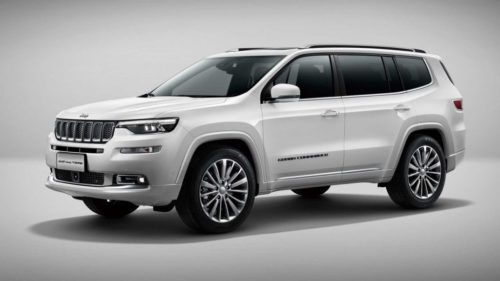 2022 Jeep Commander Revealed As Seven-Seat SUV With Compass Bones