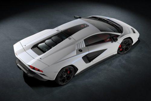 2022 Lamborghini Countach revealed: Iconic supercar tribute with hybrid V12 twist
