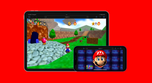 Super Mario 64 now playable on the web browser for iPhone, iPad, and Mac