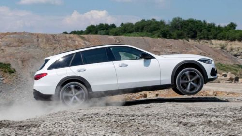 2022 Mercedes C-Class Estate All-Terrain is packing rugged genes and mild-hybrid technology