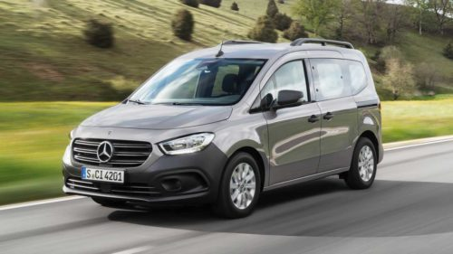 2022 Mercedes Citan Debuts With Familiar Looks, French Bones