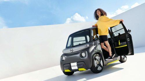 Opel's Rocks-e electric vehicle is adorably strange