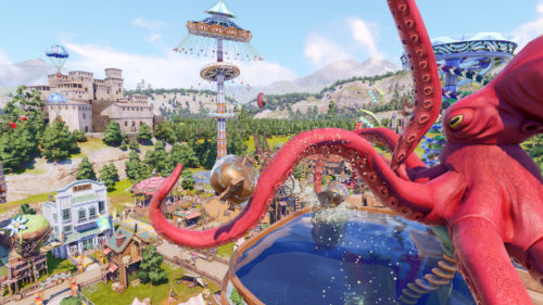 Park Beyond will let players shoot roller coaster cars out of cannons