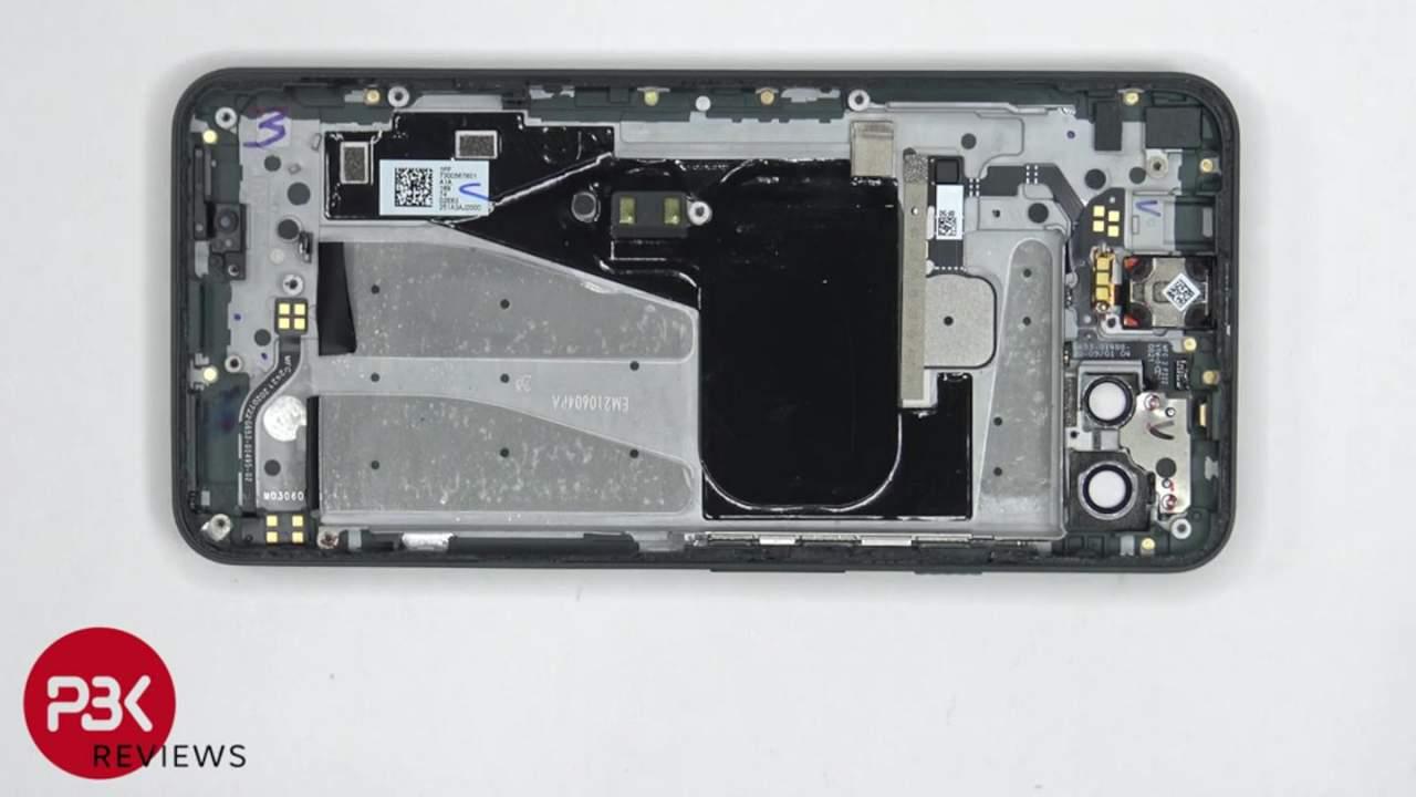 Pixel 5a teardown