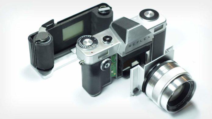 Reflex SLR camera project
