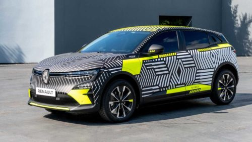 2022 Renault MeganE Electric Crossover Spied For The Last Time