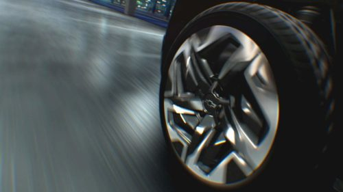Chevy shows off its slick electric Silverado Four-Wheel Steer option
