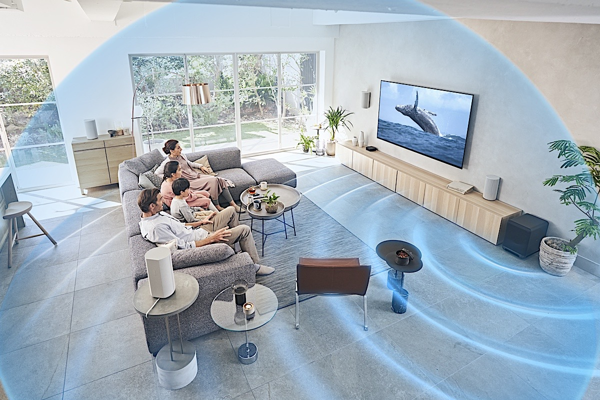 Sony 4-Speaker Home Theater System