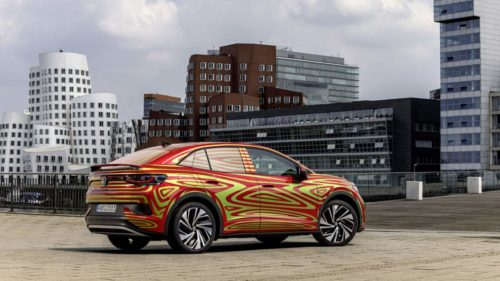 Volkswagen shows off ID.5 GTX electric SUV coupe