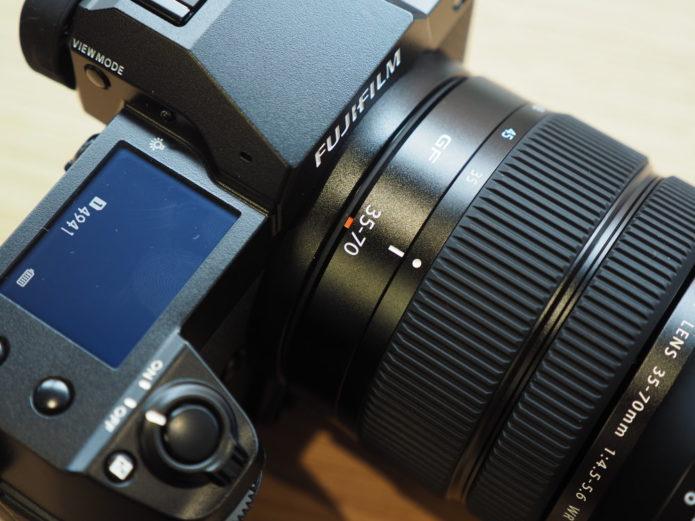 Fujifilm GFX 50S II and GF 35-70mm lens