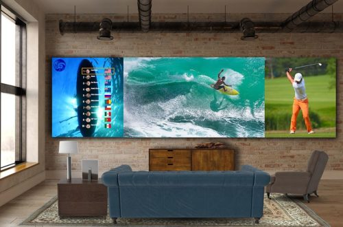 LG Direct View LED takes on Samsung's The Wall with 325-inch micro-LED