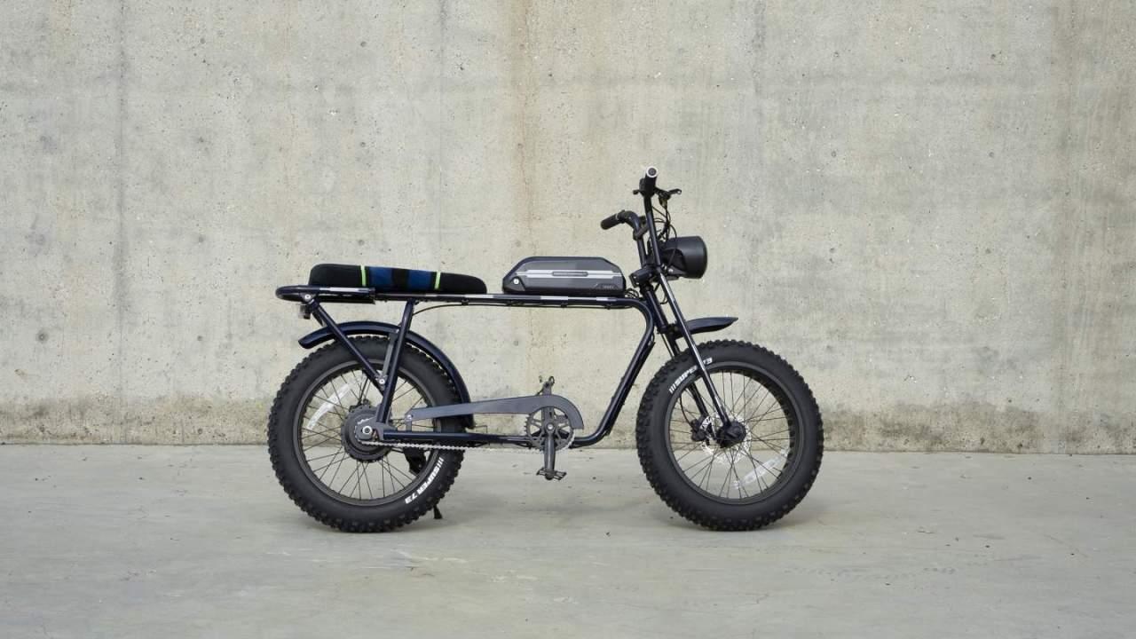 Period Correct x Super73 electric motorbike